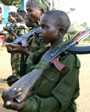 Child soldiers have been a common occurrence in the DRC's conflicts.