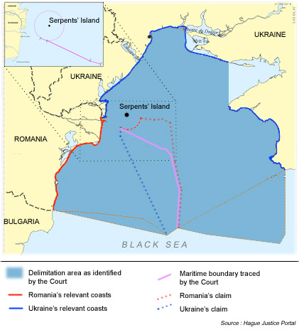 Map of Maritime Delimitation
