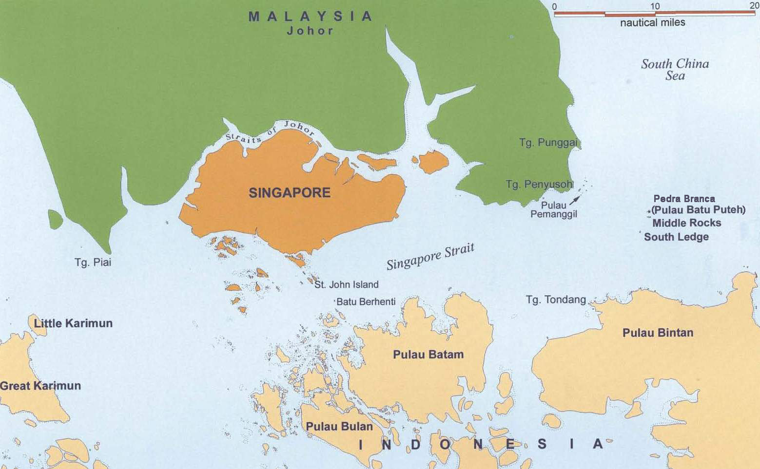 Passing of Sovereignty the MalaysiaSingapore Territorial Dispute