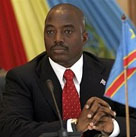 Joseph Kabila, current President of the DRC and former rebel leader.